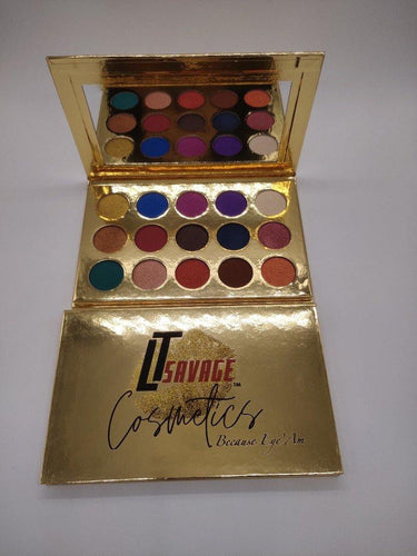 Because Eye'Am Eyeshadow Palette - LTSavage Cosmetics LLC