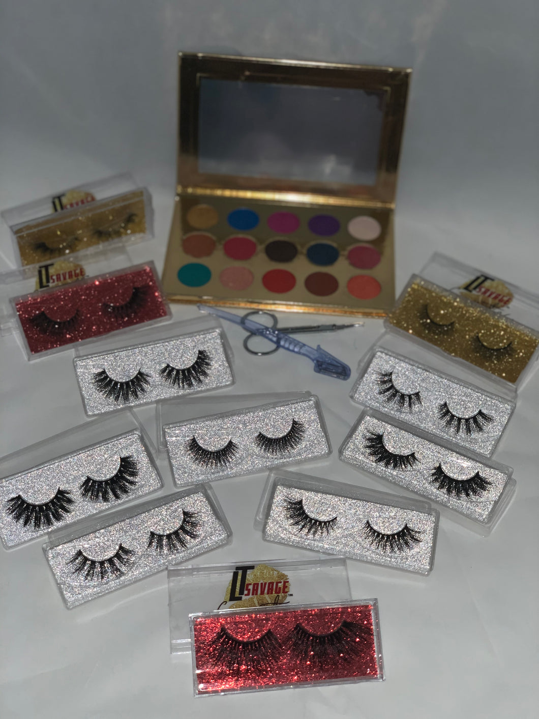 Ultimate Eyelashes and Eyeshadow Bundle