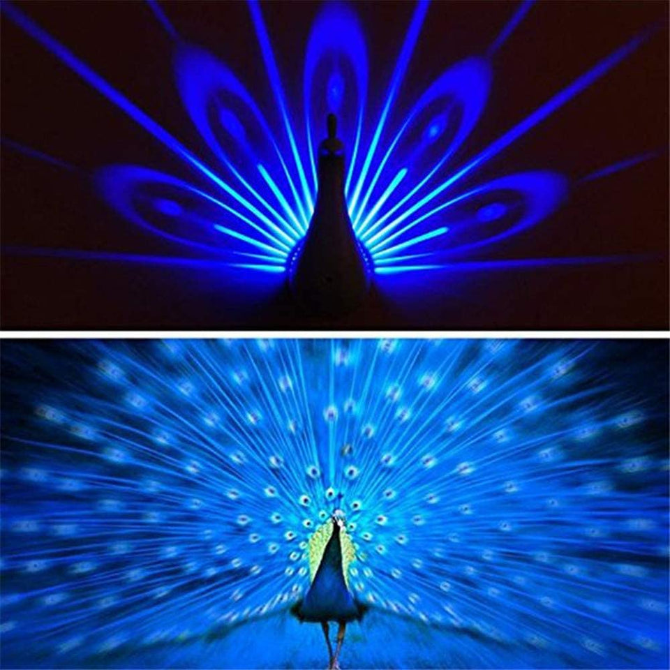 Peacock Decor Wall Lights Lamp