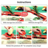 Mandoline Slicer Cutter Chopper and Grater-Koli mart