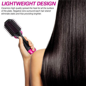 2 in 1 One-Step Hair Dryer & Volumizer Hot Air Brush-Koli mart
