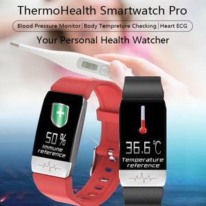 T1 ThermoHealth Smartwatch Pro-Koli mart