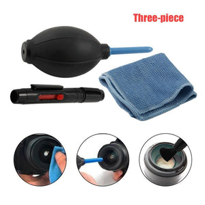 Digital Camera Cleaning Kit Pen + Air Blow + Cloth Cleaning Tool Cleaning Kit-Koli mart