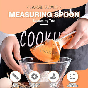 Large Scale Measuring Spoon Seasoning Tool-Koli mart