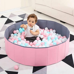 Large Kids Foldable Indoor Ball Pit Pool-Koli mart