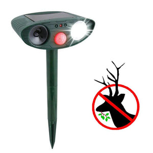 Ultrasonic Deer Repeller - Solar Powered