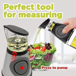 MEASURING OIL BOTTLE DISPENSER 17OZ (500ML)-Koli mart
