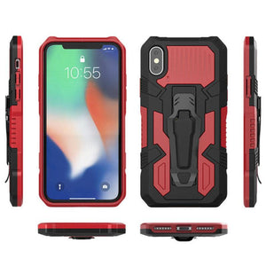 2020 Phone Warrior Multi-function Bracket Belt Clip Case For Samsung