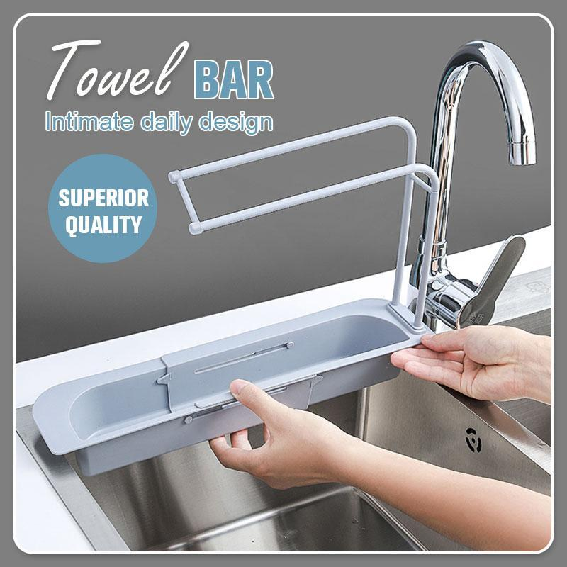 Telescopic Sink Storage Rack-Koli mart