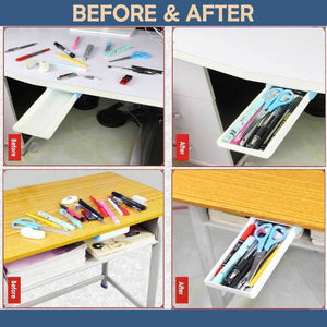Punch Free Under-The-Table Drawer-Koli mart