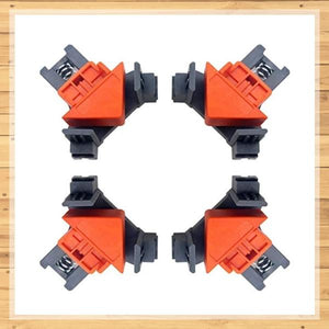 Home Builder's 90° Right Angle Clamp (SET of 4)-Koli mart