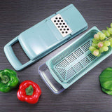 7 in 1 Vegetable Chopper Julienne Cutter Kitchen Tools-Koli mart