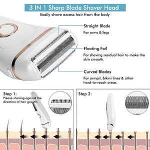 Electric Razor Painless Lady Shaver For Women