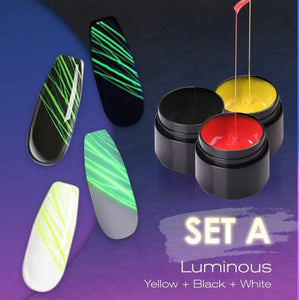 Luminous Spider Nail Gel Set-Koli mart