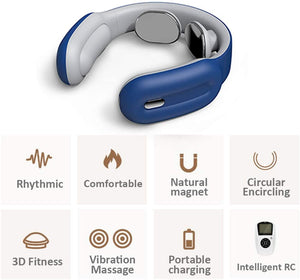 Cervical & Shoulder Massager Intelligent Remote Control-Koli mart