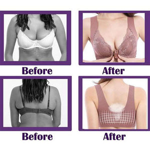Front Closure Wireless Bra-Koli mart