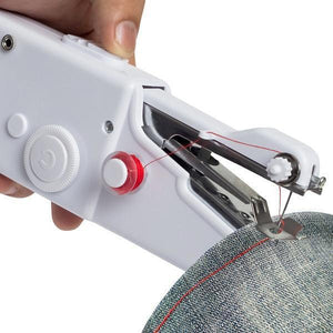 Handheld Sewing Machine Cordless Portable Electric Stitching Device