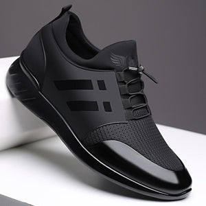 Mens Air Genuine Leather Sneakers