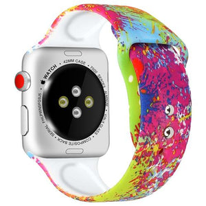 Color Splash Silicone Band-Koli mart