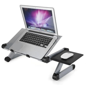Adjustable ergonomic portable aluminum laptop desk-Koli mart