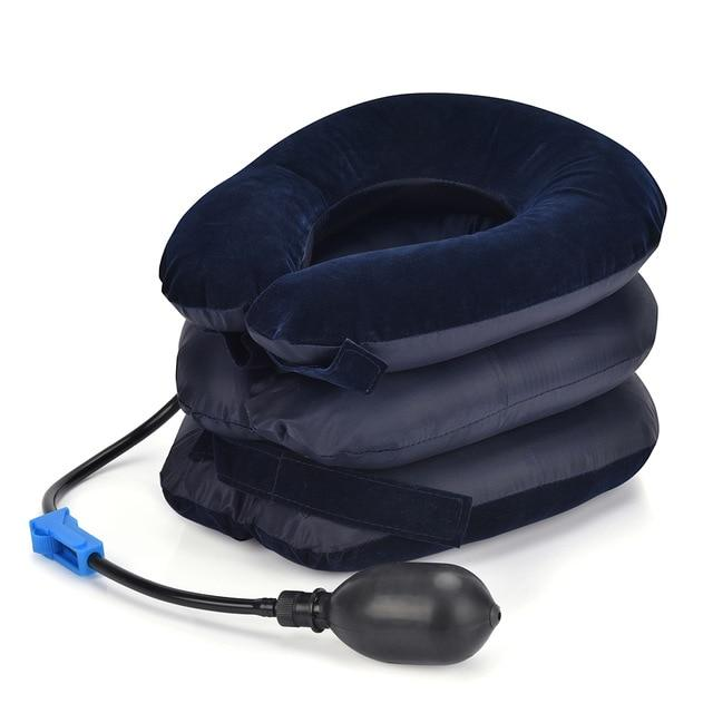 Inflatable Neck Stretcher Cervical Traction Support Pillow-Koli mart