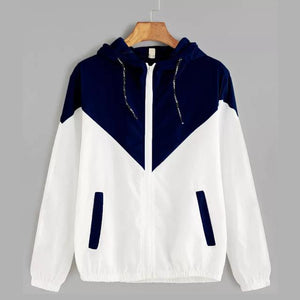 Women's Basic Hooded Jacket-Koli mart