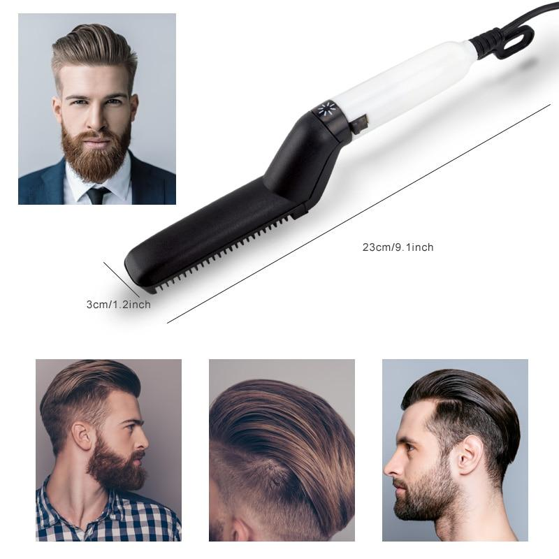 Beard Straightening Comb Heated Straightener-Koli mart