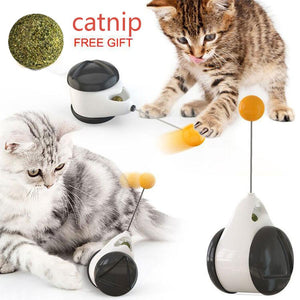 Smart Cat Toy - A cat Teaser ball-Koli mart