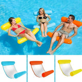 Floating Water Hammock Float Lounger Floating Toys Inflatable Floating Water Pillow Swimming Pool-Koli mart