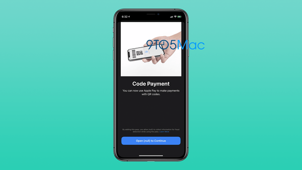 Apple is working on QR Code payments for Apple Pay