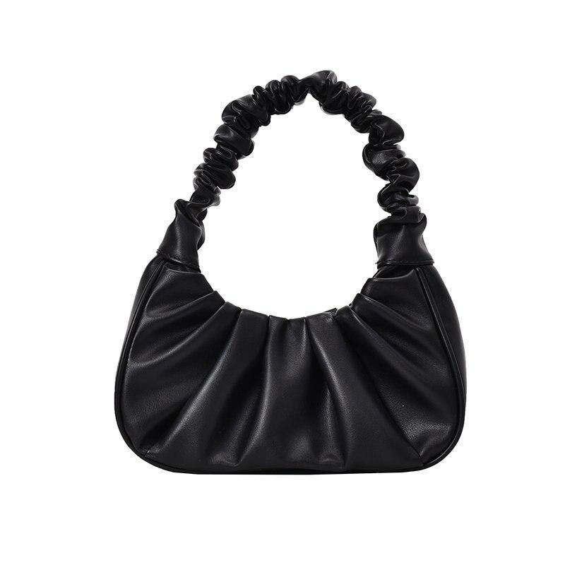 Women's Hobo Pleated Tote Bag