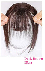 Load image into Gallery viewer, Brazilian Remy Body Wave Fringe Hair Invisible for Hair Loss
