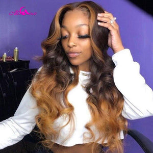 Colored Human Hair Wigs Pre Plucked Lace Front - monaveli -  - eprolo Colored Human Hair Wigs Pre Plucked Lace Front - mymonaveli.com
