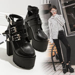 Load image into Gallery viewer, Thick bottom waterproof women's boot - monaveli - shoes - Thick bottom waterproof women's boot - mymonaveli.com
