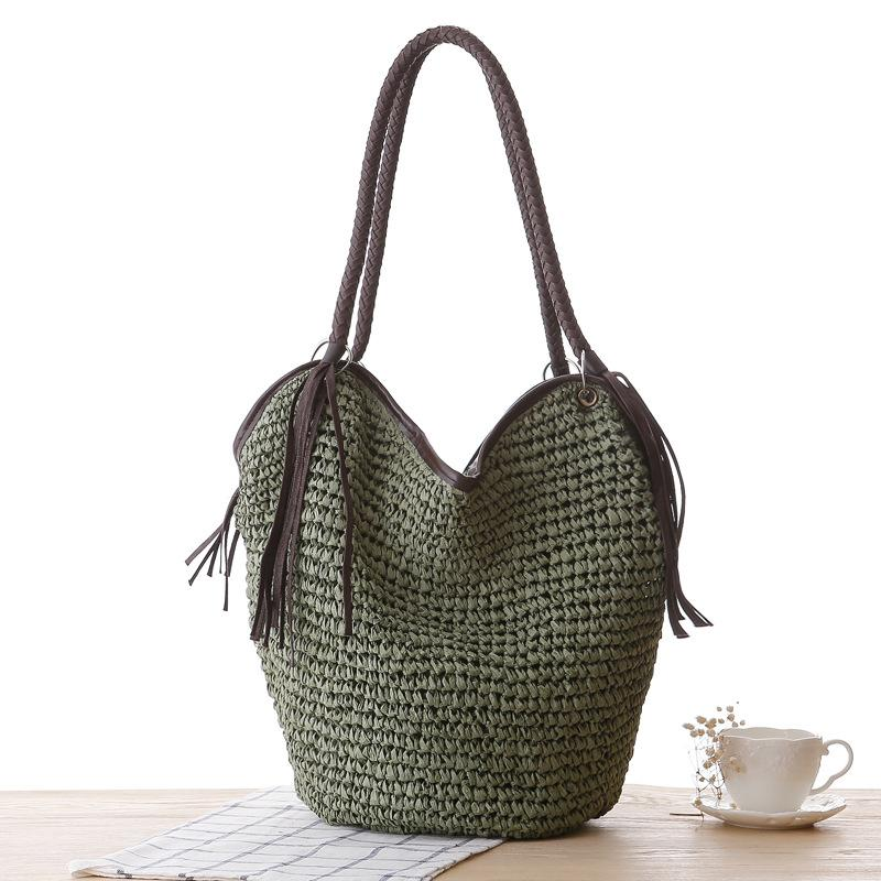 Octopus Weave Straw Bag - monaveli - bag - Octopus Weave Straw Bag - mymonaveli.com