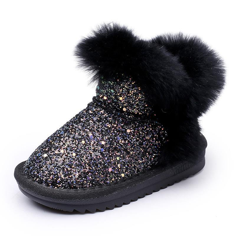 Kid's warm velvet boot - monaveli - kids - Kid's warm velvet boot - mymonaveli.com