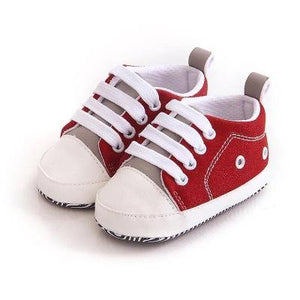 Kid's lace-up casual canvas