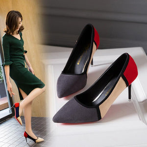 Pointed High Heels - monaveli - shoes - Pointed High Heels - mymonaveli.com