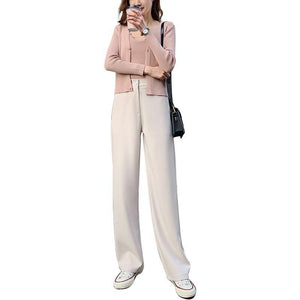 Women's breathable drop trousers
