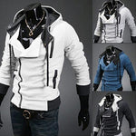 Load image into Gallery viewer, Men's Long Sleeve Zipper Hoodie - monaveli - Jackets - Men's Long Sleeve Zipper Hoodie - mymonaveli.com
