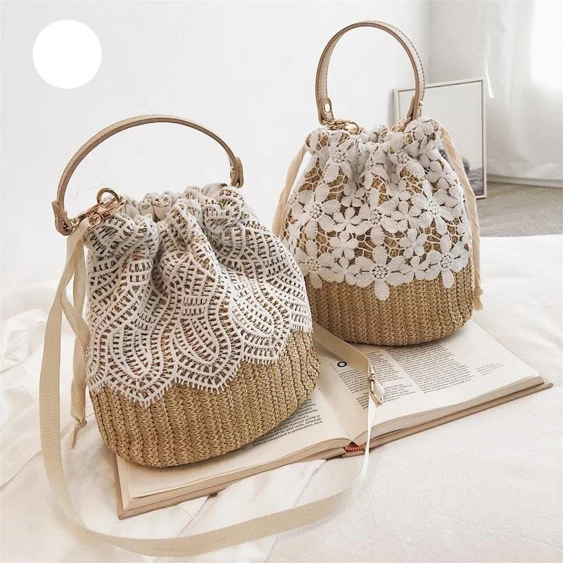 Summer straw bag - monaveli - bag - Summer straw bag - mymonaveli.com
