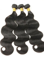 Load image into Gallery viewer, Natural Color Body Wave Remy Brazilian Human Hair - monaveli -  - Natural Color Body Wave Remy Brazilian Human Hair - mymonaveli.com