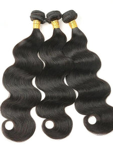 Natural Color Body Wave Remy Brazilian Human Hair - monaveli -  - Natural Color Body Wave Remy Brazilian Human Hair - mymonaveli.com