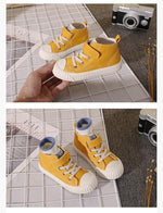 Load image into Gallery viewer, Children's high-top casual shoe