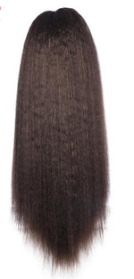 Load image into Gallery viewer, Synthetic 18-24 inch Kinky Straight Heat Resistant Hair