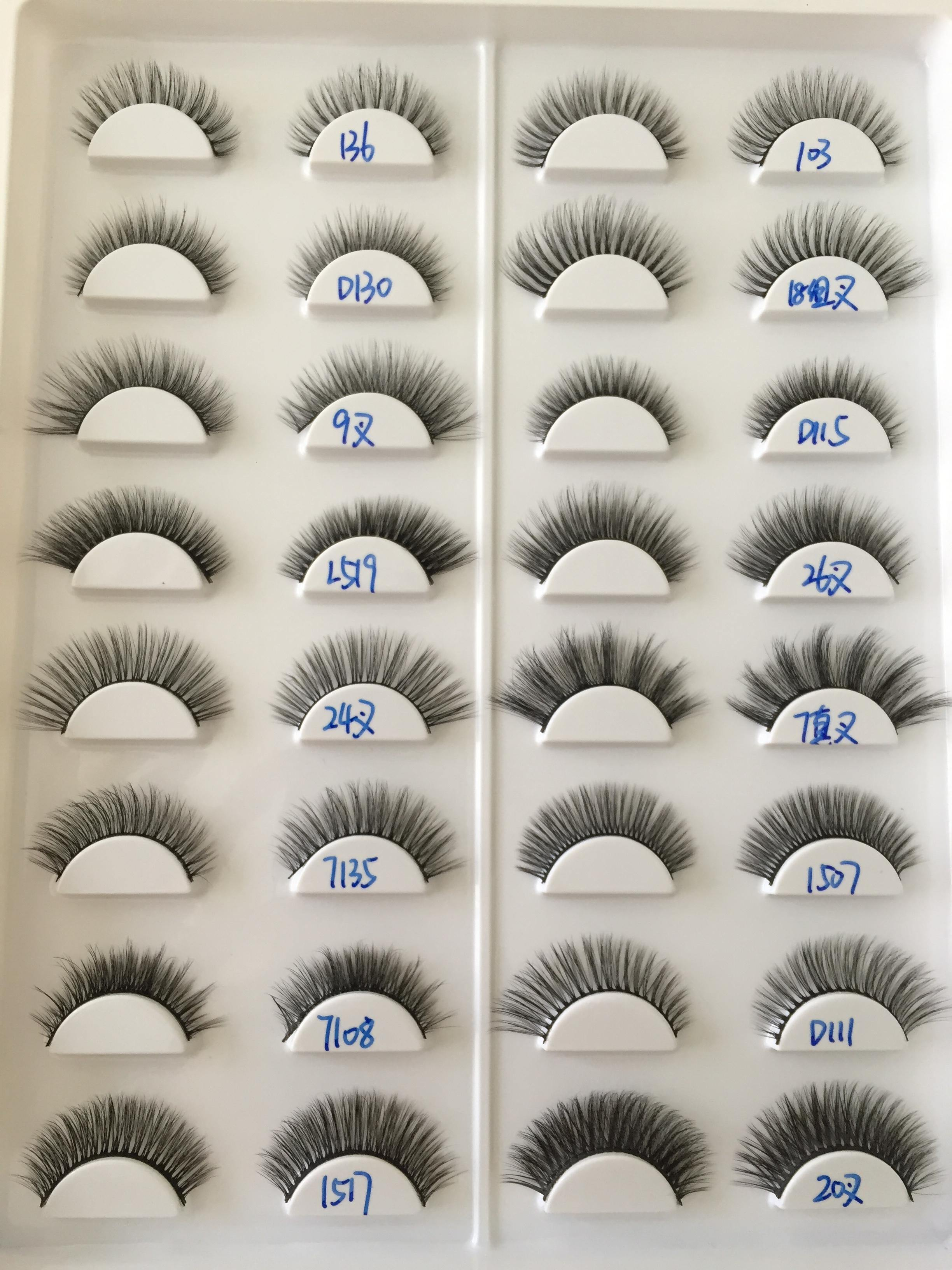No glue sticky 3D silk eyelashes - monaveli - beauty - No glue sticky 3D silk eyelashes - mymonaveli.com