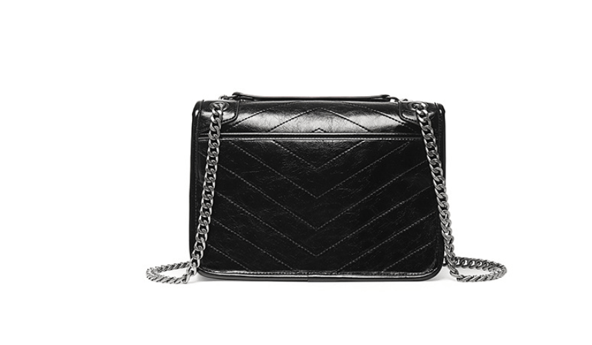 Pleated chain bag - monaveli - bag - Pleated chain bag - mymonaveli.com