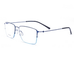 Load image into Gallery viewer, Screwless half frame square eyewear - monaveli - eyewear - Screwless half frame square eyewear - mymonaveli.com