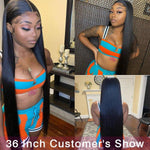 Load image into Gallery viewer, Peruvian Straight Hair Bundle With Closure - monaveli -  - Peruvian Straight Hair Bundle With Closure - mymonaveli.com