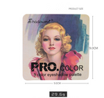 Load image into Gallery viewer, Matte Makeup Eyeshadow Pallete - B - monaveli - beauty - Matte Makeup Eyeshadow Pallete - B - mymonaveli.com